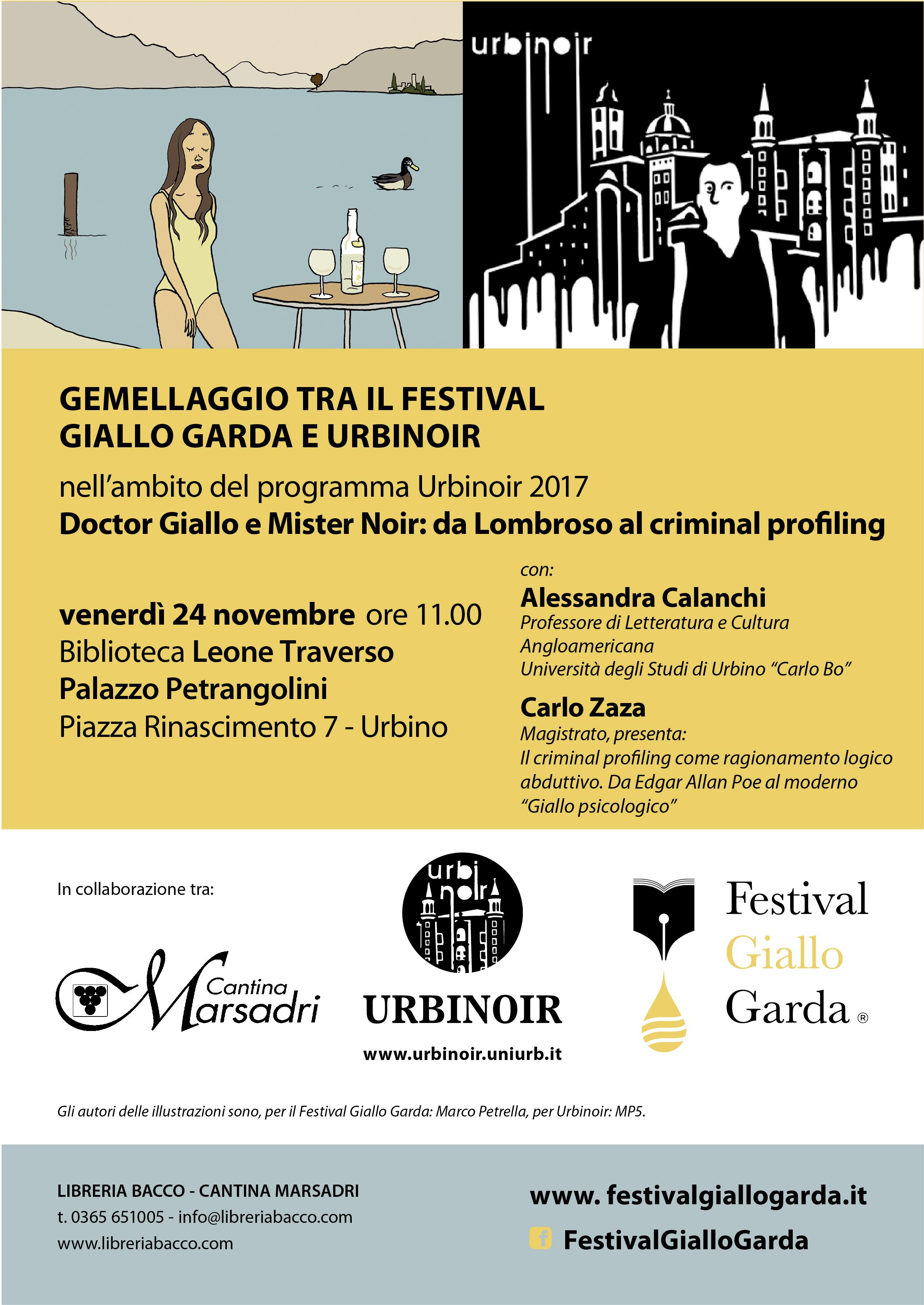Urbinoir 2017 - Festival Giallo Garda