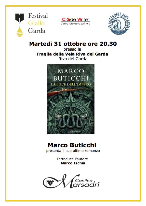"""Marco Buticchi presenta """"La Luce dell'Impero"""""""