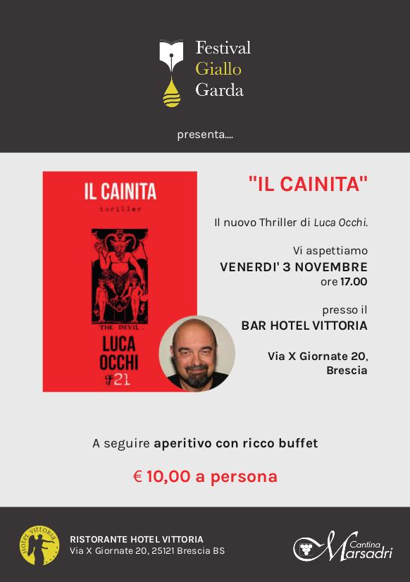 """Luca Occhi presenta """"Il Cainita"""""""