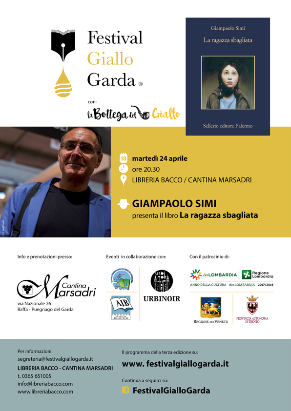 """Giampaolo Simi presenta """"La Ragazza Sbagliata"""""""