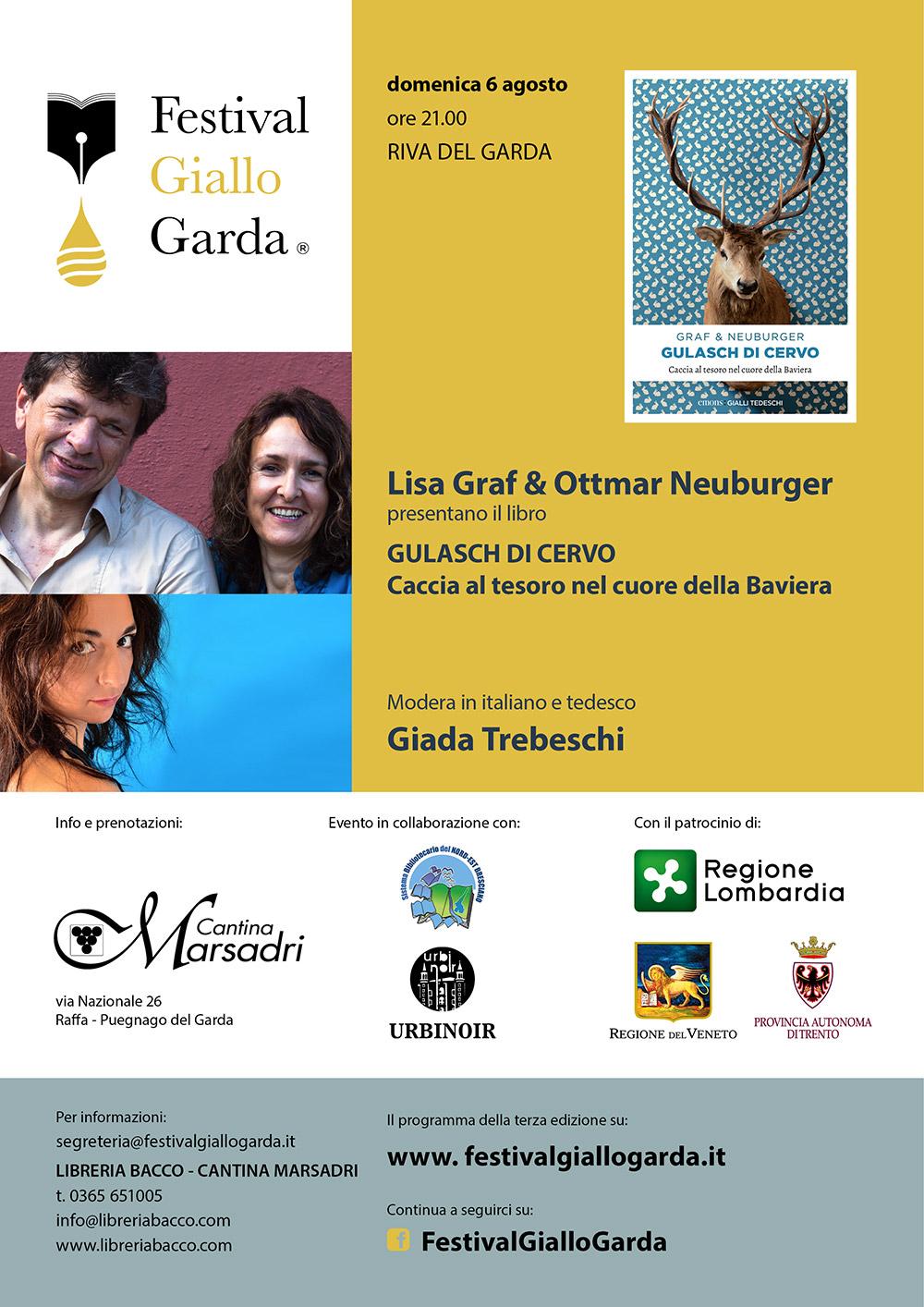 "Lisa Graf & Ottmar Neuburger presentano ""Gulasch di Cervo"""