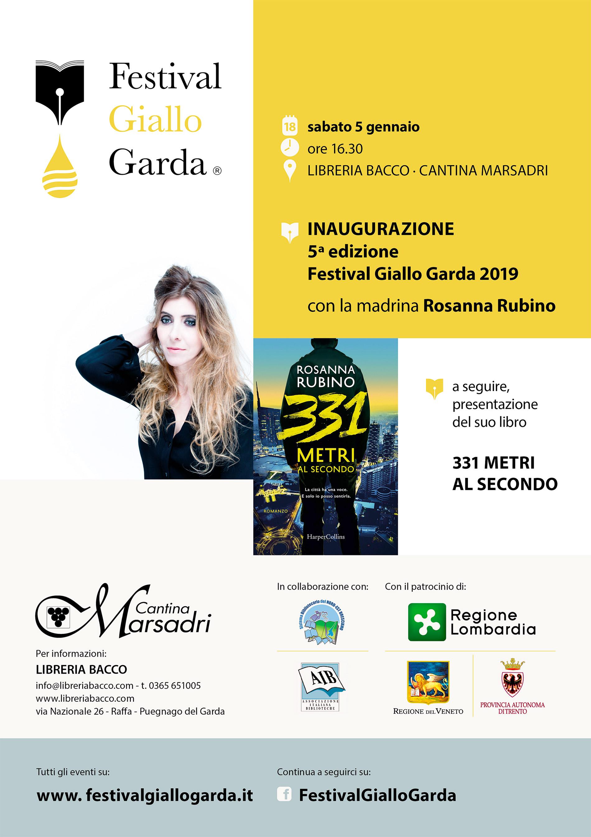 Inaugurazione 5° edizione FGG 2019