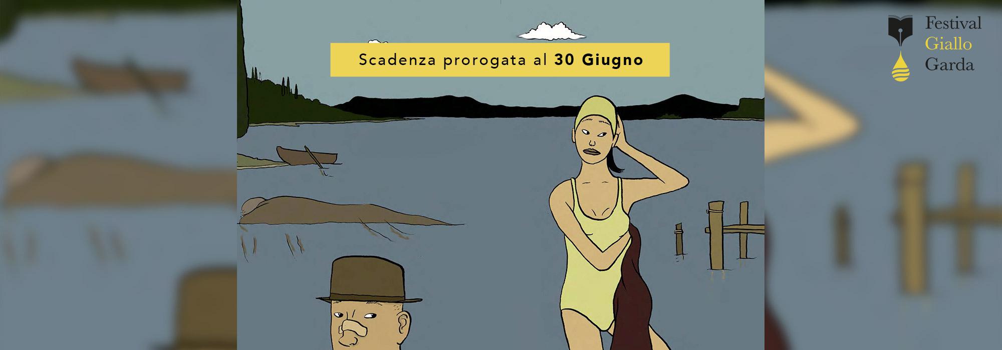 Iscrizione sesta edizione Festival Giallo Garda