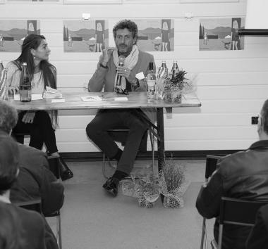 16.10.2016 - Presentazione di Spaghetti Paradiso con Nicky Persico- Festival Giallo Garda