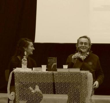 Festival Giallo Garda - evento 18 dicembre  Presentazione del libro VIVA PIÙ CHE MAI con l'autore Andrea Vitali