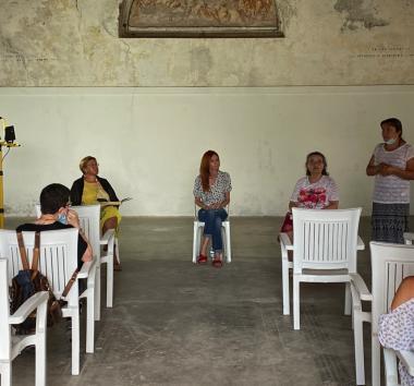 Rocca d'Anfo con Romina Casagrande