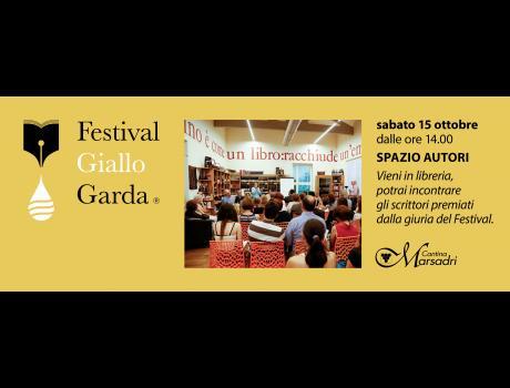 Festival Giallo Garda - 13 ottobre 2016 Spazio autori