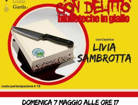 Festival Giallo Garda - Merenda con delitto con l'autrice Livia Sambrotta
