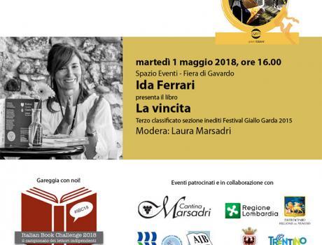"""Ida Ferrari presenta il libro """"La vincita"""""""