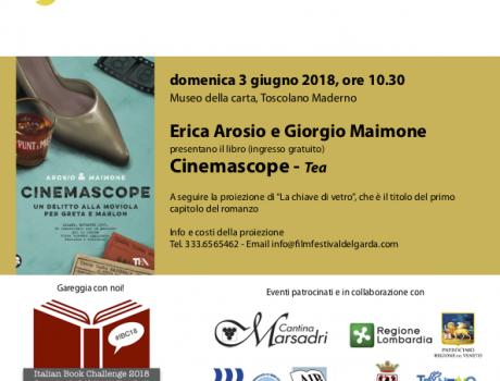 """Erica Arosia e Giorgio Maimone presentano """"Cinemascope"""""""