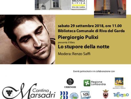 """Piergiorgio Pulixi presenta """"Lo stupore della notte"""""""
